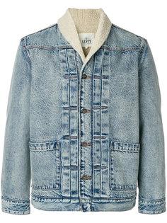 джинсовая куртка с воротником-шалька Levis: Made & Crafted