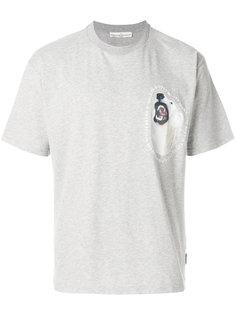 футболка с нашивкой логотипа Golden Goose Deluxe Brand