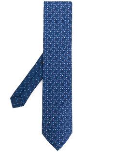 галстук с принтом стрел Etro