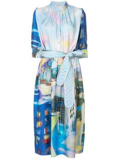 painting print dress Tsumori Chisato
