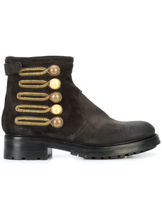 embellished button ankle boots Chuckies New York