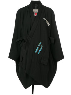 slouched asymmetric coat Bernhard Willhelm
