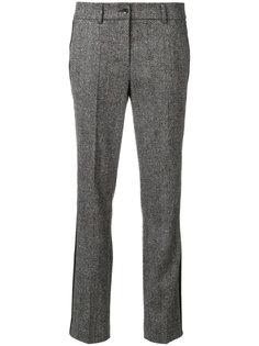 твидовые расклешенные брюки Luisa Cerano