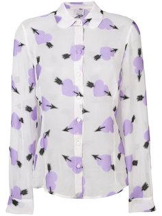 блузка с узором в виде сердец  Ultràchic
