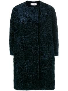 пальто с искусственным мехом  Alberto Biani