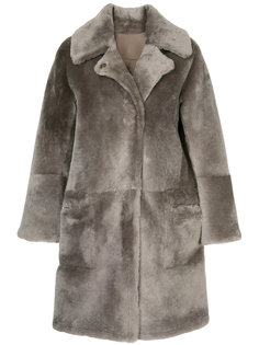 reversible fur coat Sylvie Schimmel