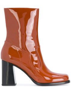 лакированные ботинки по щиколотку Ross Marc Jacobs