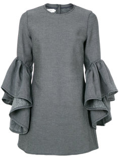 платье с оборками Marquesalmeida