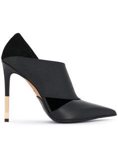 туфли-лодочки с заостренным носком на шпильке Balmain