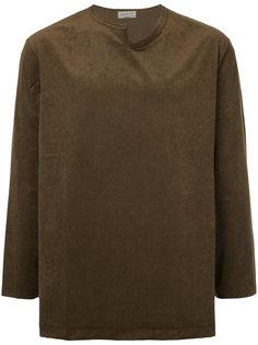 рубашка с заостренной горловиной Yohji Yamamoto