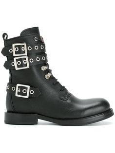 ботинки с пряжками Diesel