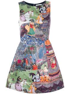 платье Enchantress Landscape Alice+Olivia