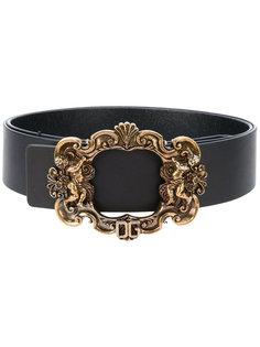 ремень с декорированной пряжкой Dolce & Gabbana