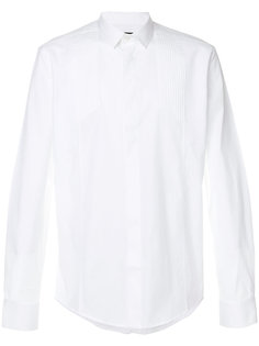 рубашка с плиссировкой на плечах Les Hommes