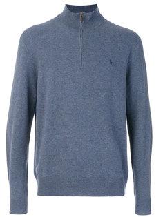 свитер с горловиной на молнии Polo Ralph Lauren