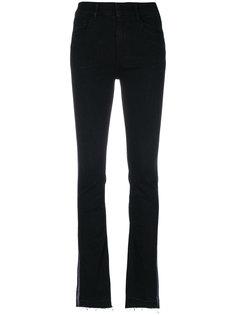 джинсы скинни с бахромой Ssheena
