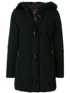 пальто-пуховик с капюшоном Rrd