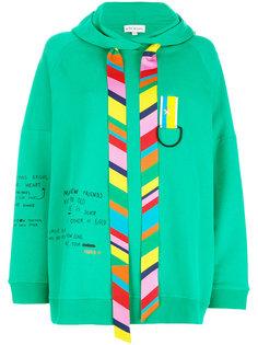 stripe detail hoodie Mira Mikati