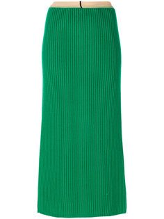 ribbed midi skirt Calvin Klein
