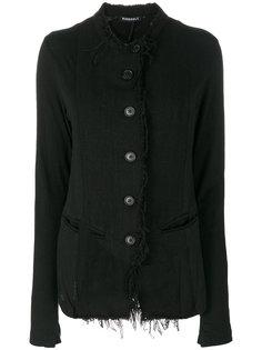 slim-fit button up jacket Rundholz