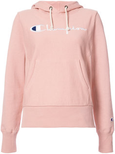 embroidered logo hoodie Champion