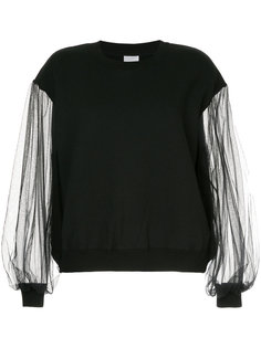 sheer sleeves blouse Cityshop