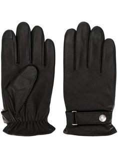 перчатки с логотипом Polo Ralph Lauren