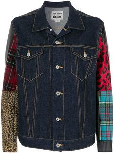 лоскутная джинсовая куртка Junya Watanabe Comme Des Garçons