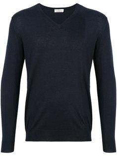 пуловер с V-образным вырезом Laneus