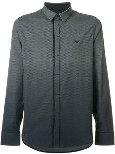 рубашка с градиентным эффектом Emporio Armani