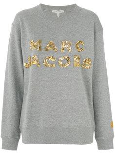 толстовка с логотипом пайетками Marc Jacobs