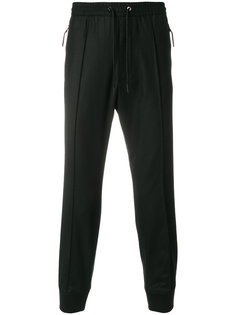спортивные брюки кроя слим Emporio Armani