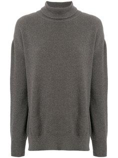 свитер с отворотом  Nanushka