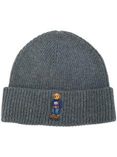шапка с вышивкой медведя Polo Ralph Lauren