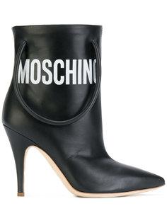 ботинки с ручками Moschino