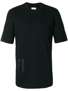 классическая футболка с ленточной отделкой Helmut Lang