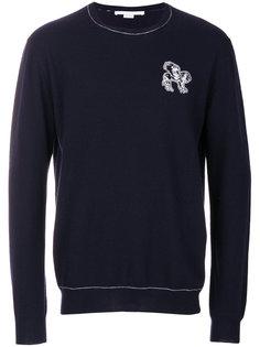 свитер с вышивкой Stella McCartney