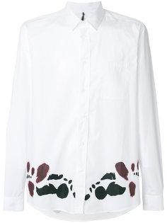 рубашка с графическим принтом Oamc