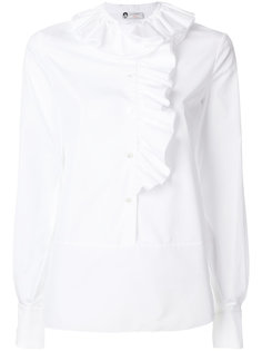 рубашка с оборкой  Lanvin