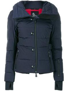 приталенная дутая куртка  Moncler Grenoble