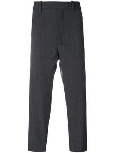 классические брюки с застежкой-молнией Oamc