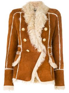 куртка с декоративными пуговицами  Balmain