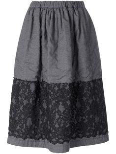 юбка с кружевной отделкой  Comme Des Garçons Comme Des Garçons