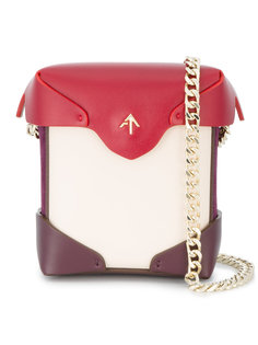 микро-сумка на плечо Pristine Manu Atelier