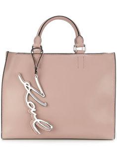 сумка-тоут с логотипом Karl Lagerfeld