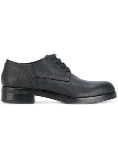 туфли на шнуровке Marni