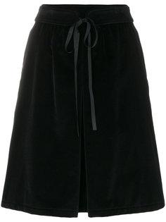 юбка с завязкой  A.P.C.