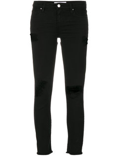 джинсы скинни с прорехами  Iro