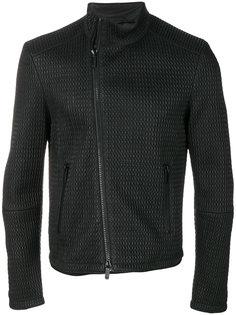 текстурированная куртка Emporio Armani