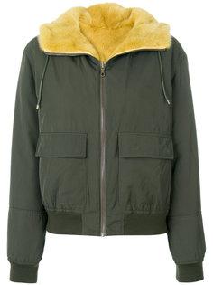 reversible bomber jacket  Army Yves Salomon